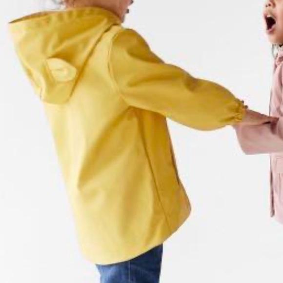 Zara toddler girl rain jacket